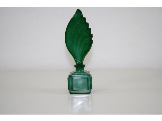 Flakon malachitové sklo (JADE) - kostka