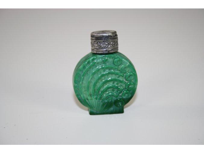 Flakón na parfém malachitové sklo (JADE) - mini