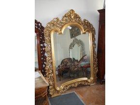 Zrcadlo  velké - gold, silver