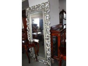 Zrcadlo nástěnné - silver