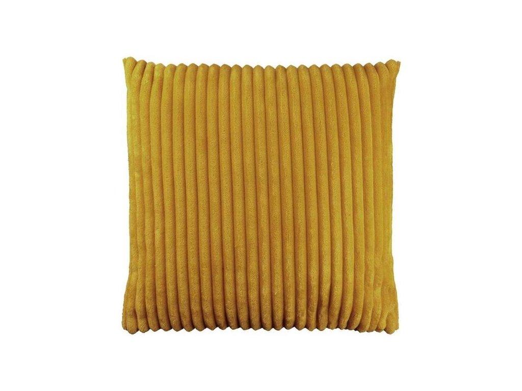 polštář dez žlutý