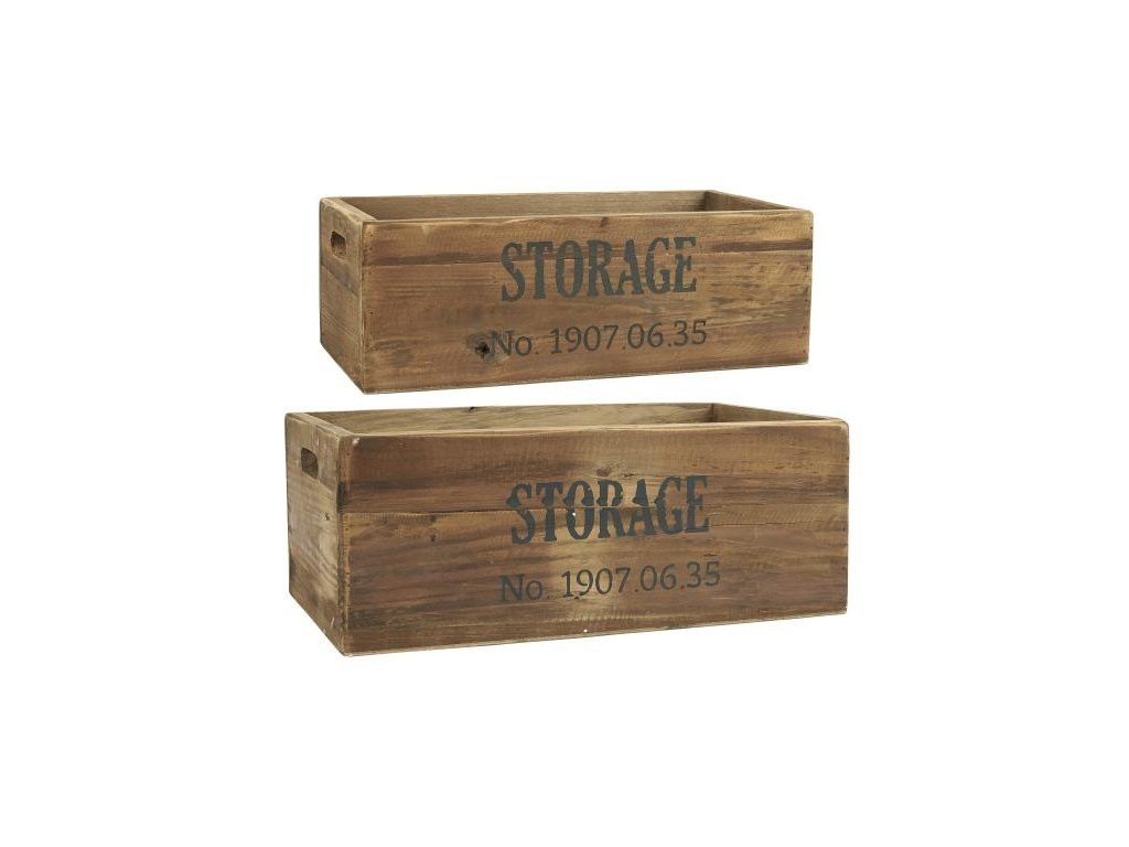 dřevěné boxy STORAge Ib Laursen