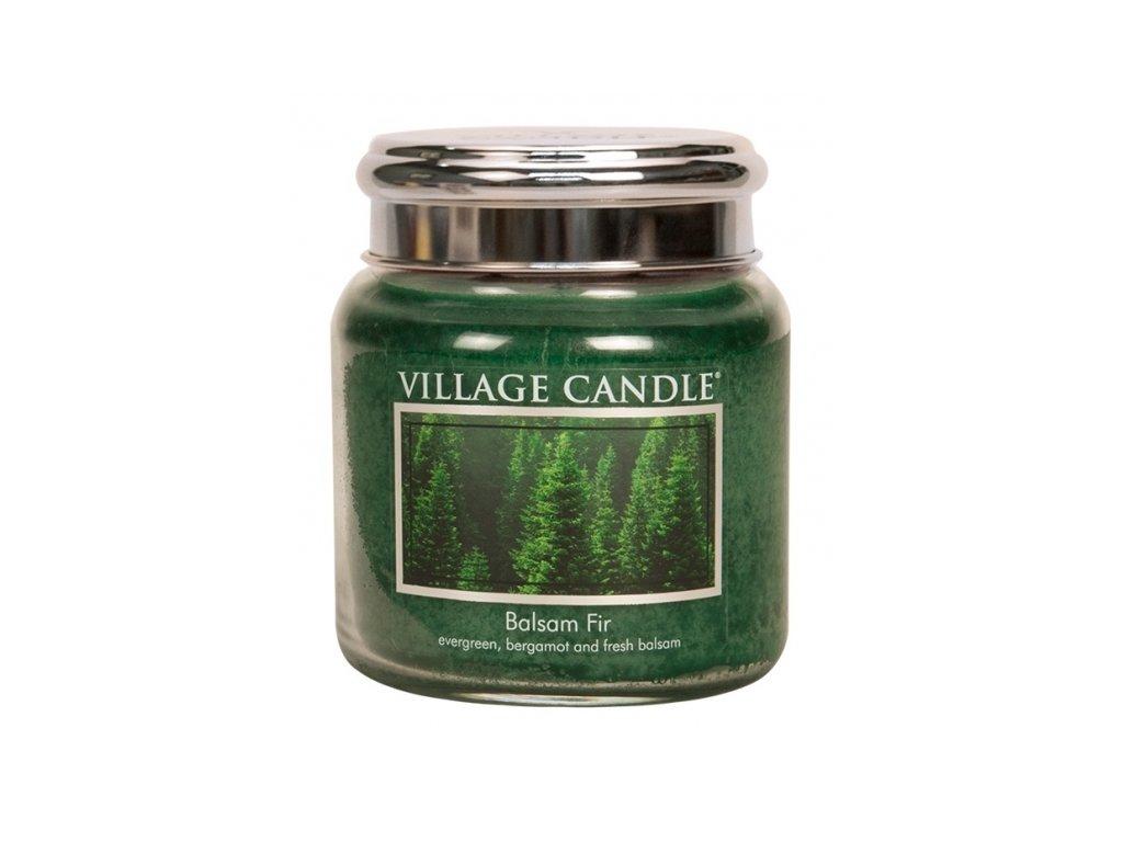 village candle vonna svicka ve skle jedle balsam fir 16oz