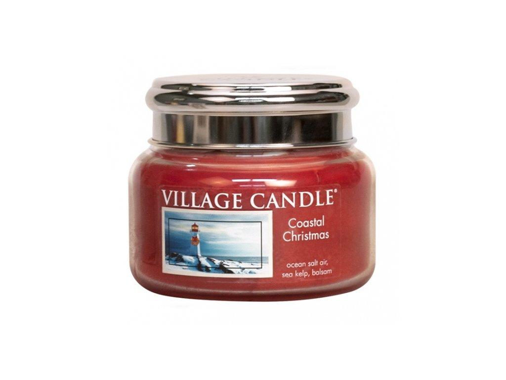 45615 11764 village candle vonna svicka ve skle vanoce v pristavu coastal christmas 11oz