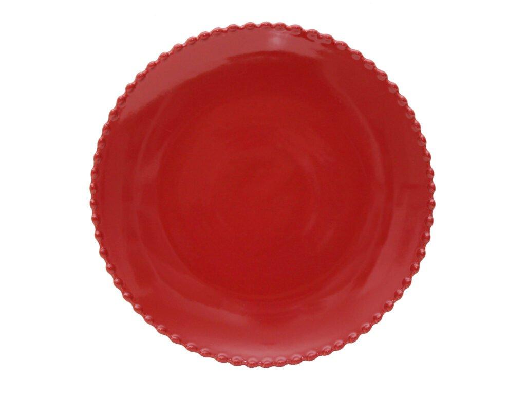 talíř 28cm pearl rubi costa nova