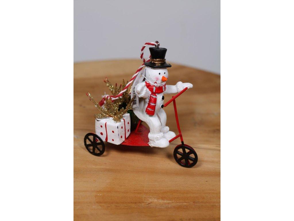 postavička sněhulák