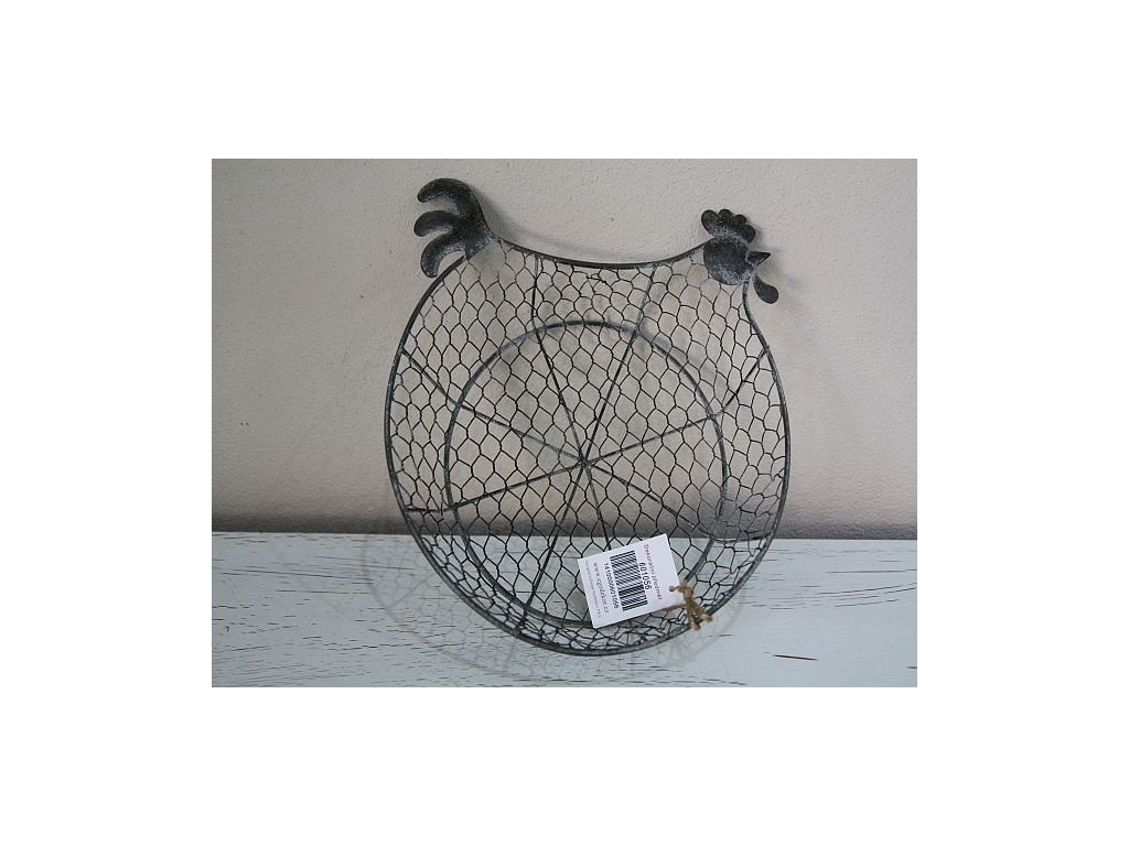 Slepice košík šedá- nejmenší