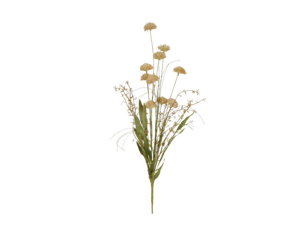 květina umělá sušený vzhled