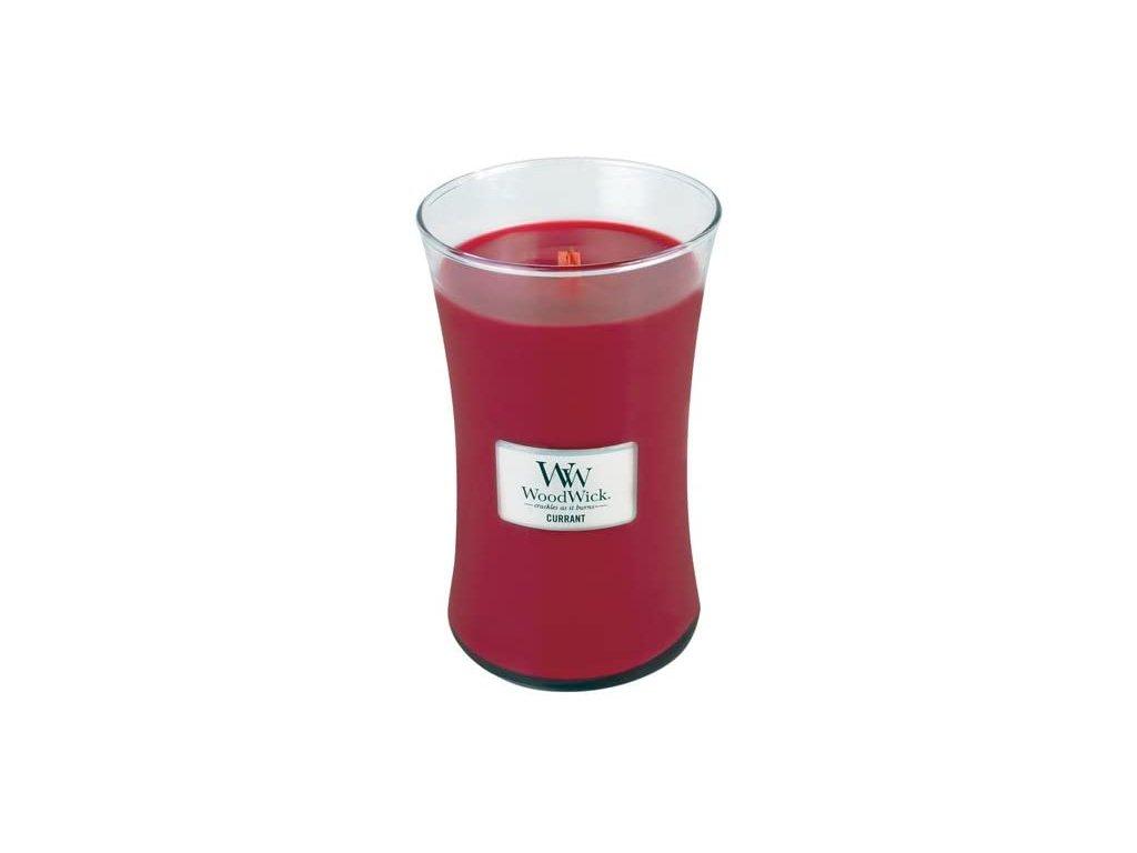 woodwick svíčka currant velká