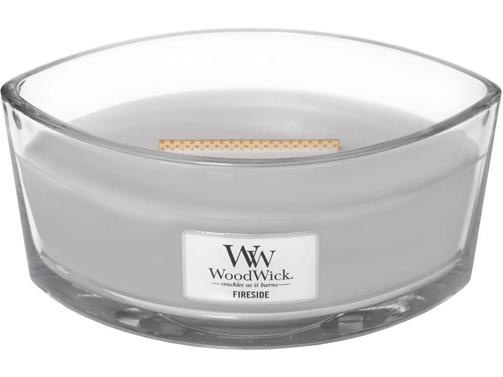 woodwick svíčka lod