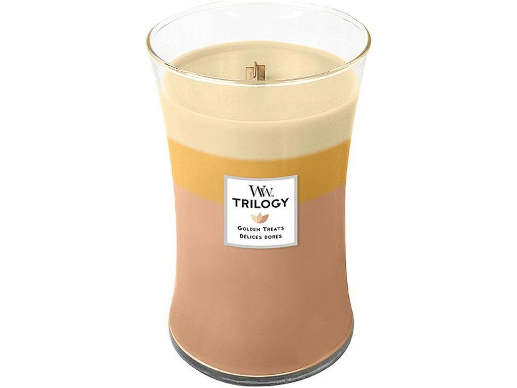 woodwick svíčka trilogy