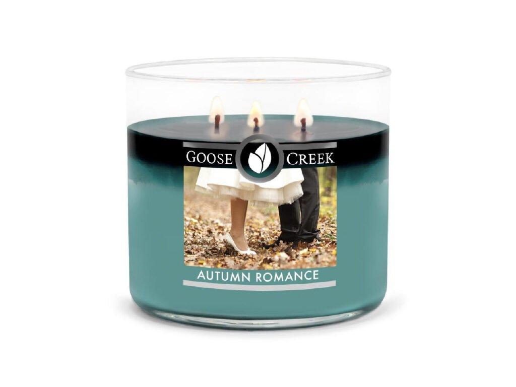 vonná svíčka goose creek autumn romance