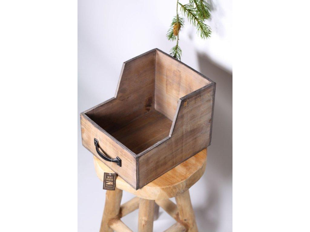 box šuplík dřevo