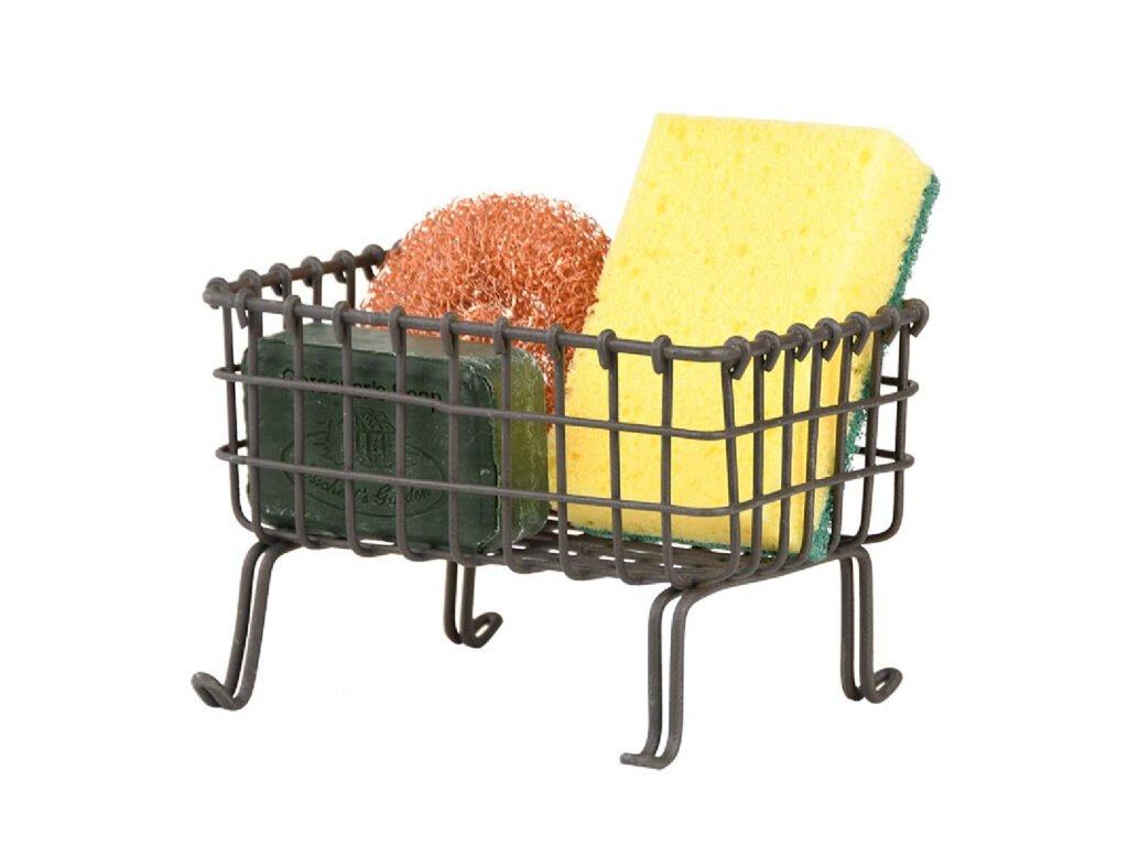 stojánek drátěný na mycí prostředky