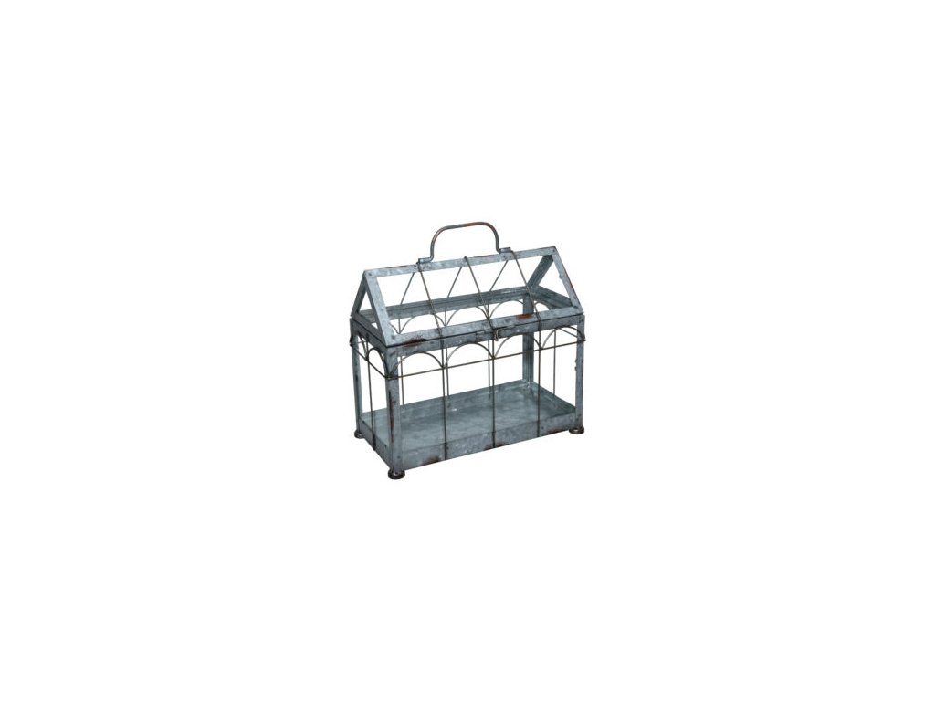 skleník prosklený pozink