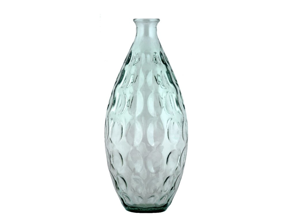 váza světle zelná