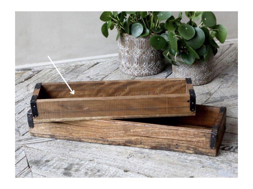 dřevěný tác unique