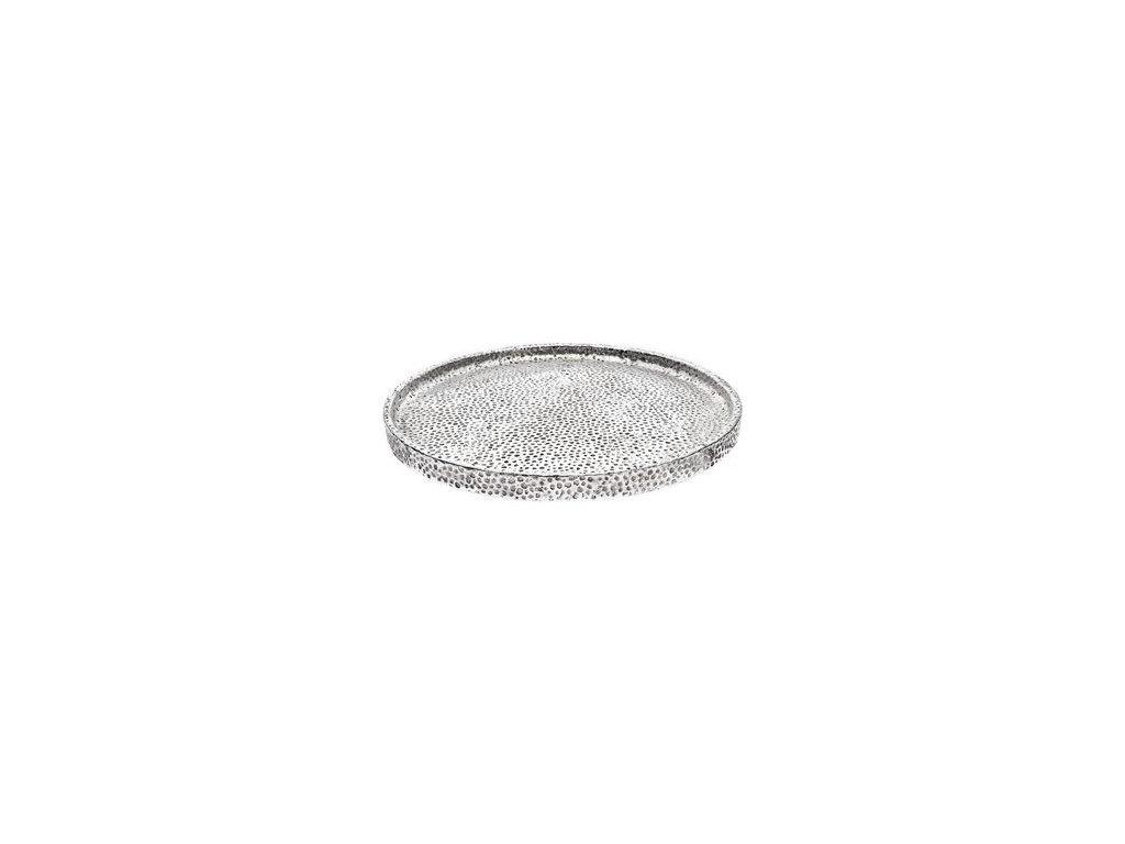 tác stříbrný kruhový