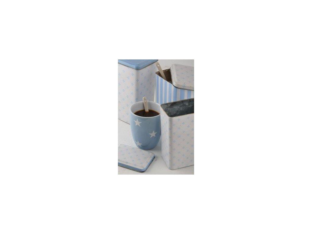 Hrneček latte Stars blue