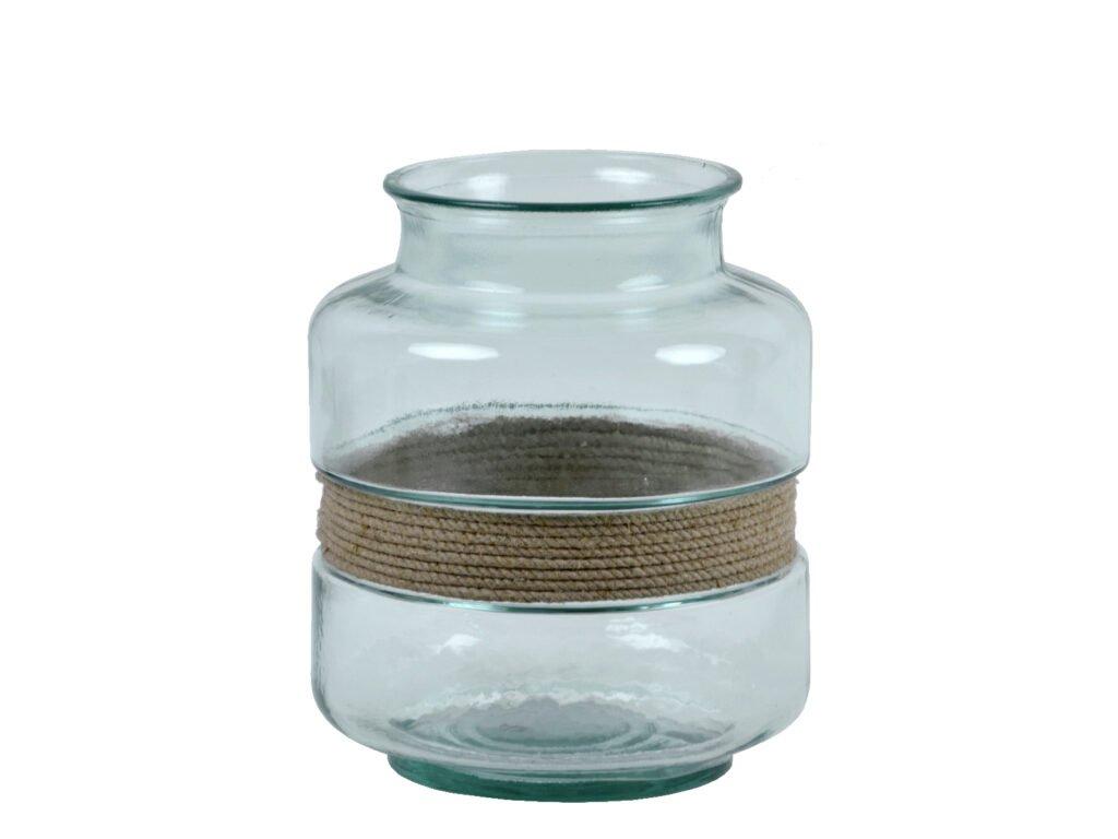 váza aba recyklované sklo