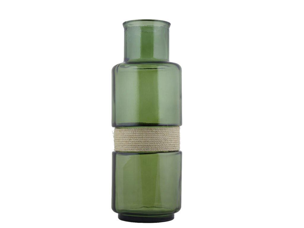 váza aba olivově zelená