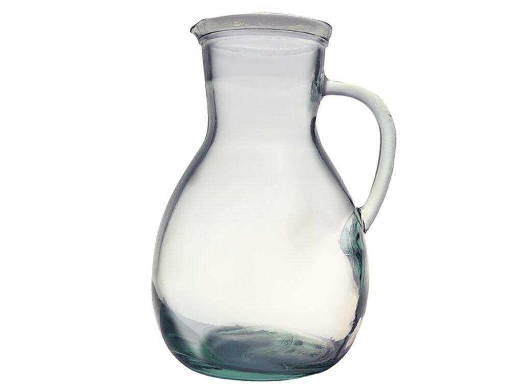 džbán recyklované sklo