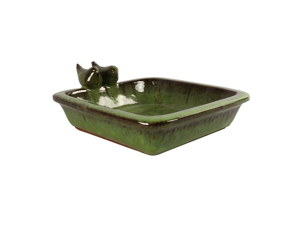 pítko zelené keramické