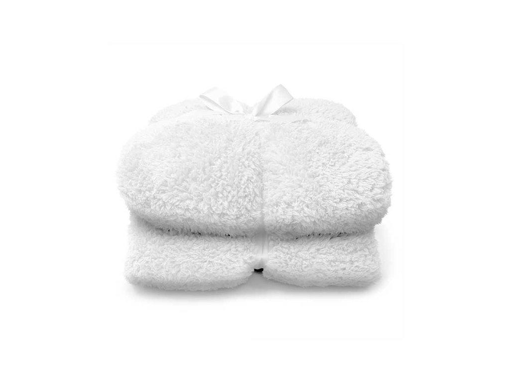 deka teddy dove white