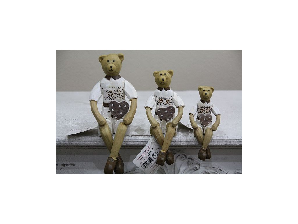 Medvídek sedící- malý
