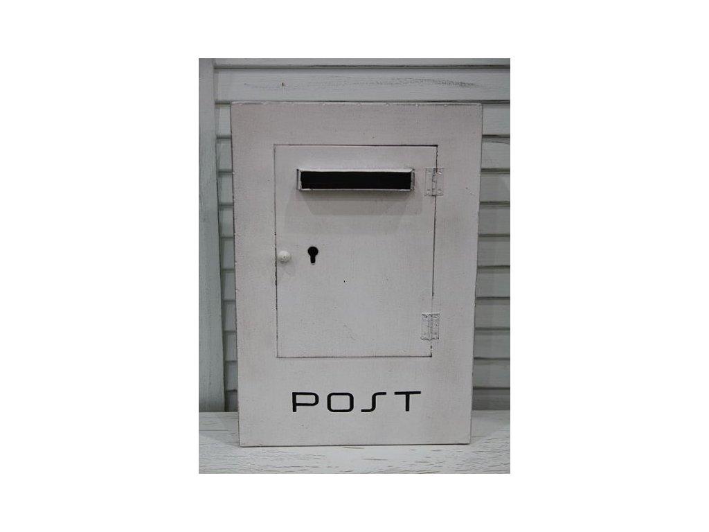 Poštovní schránka plechová