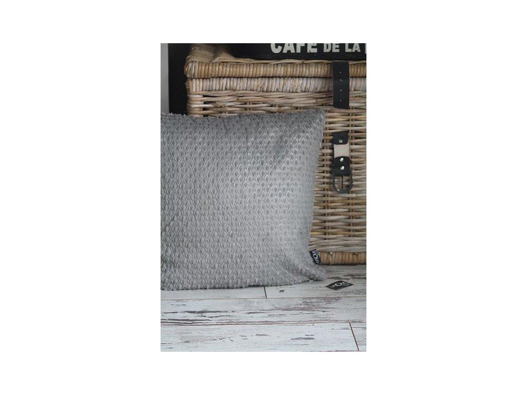 Povlak na polštář LUMI grey