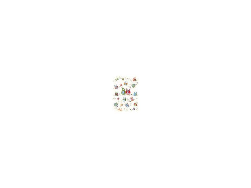 Veselé sovy 16,7 x 11,8 cm