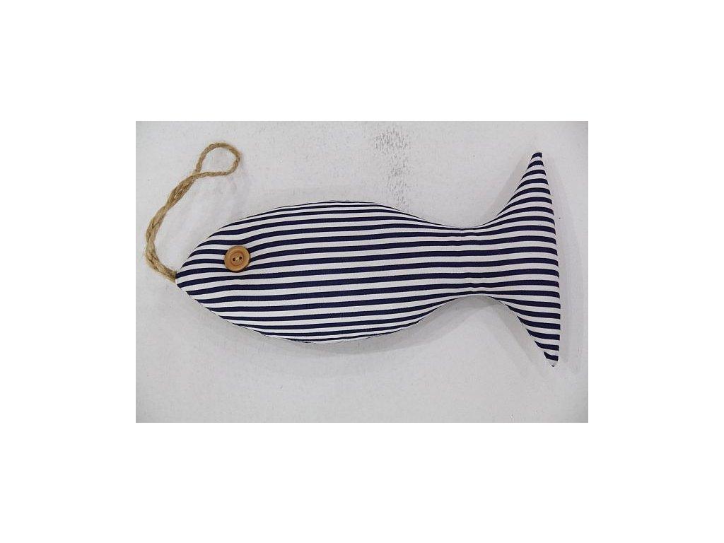 Ryba šitá velká modrý pruh 1.