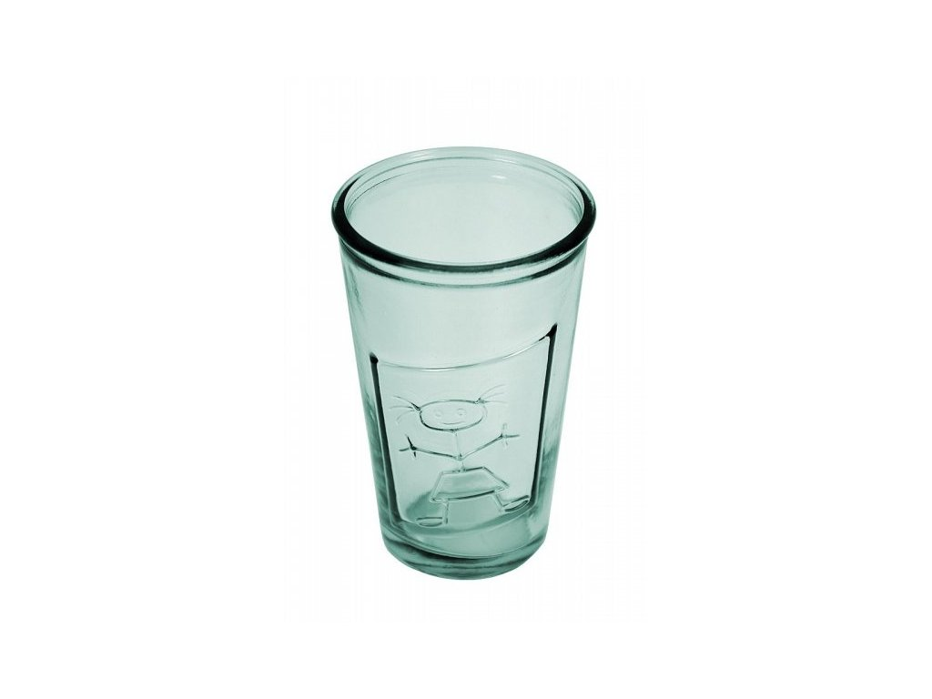 sklenka holka recyklované sklo