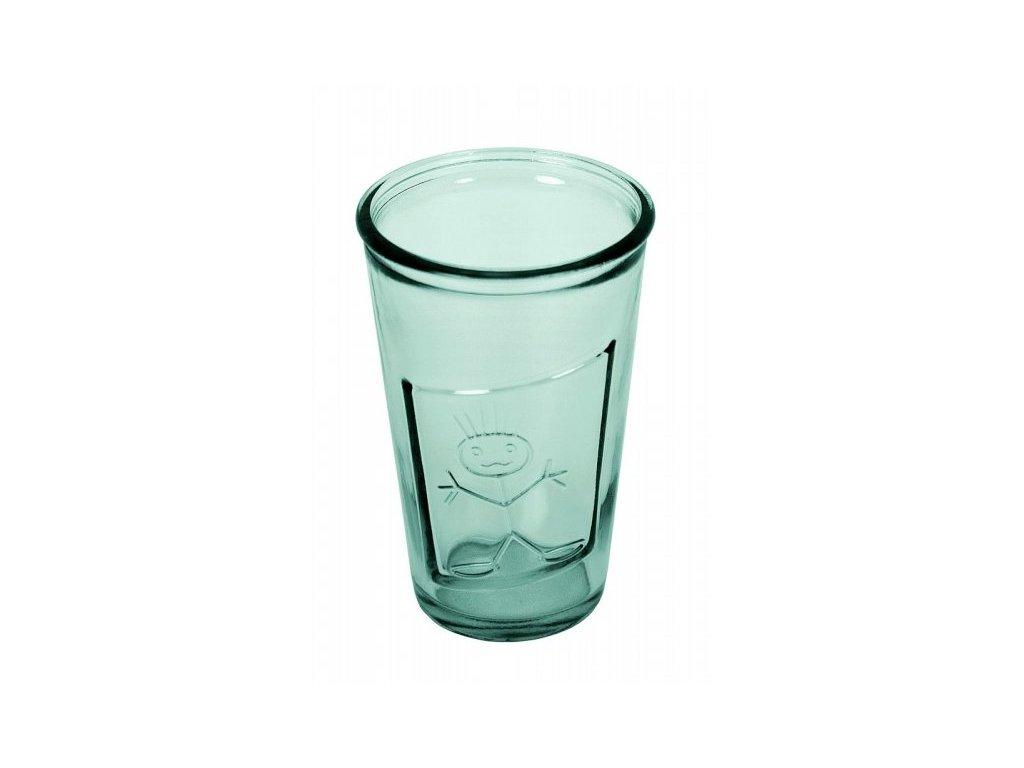sklenice kluk recyklované sklo