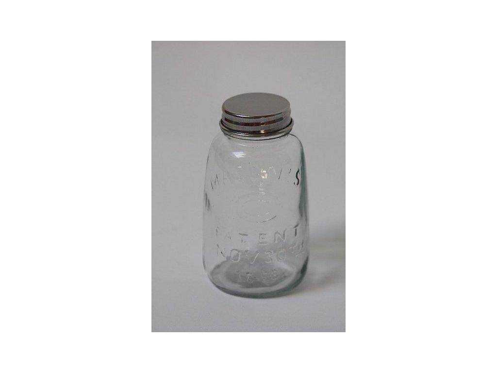 Skleněná lahvička s víčkem 2.