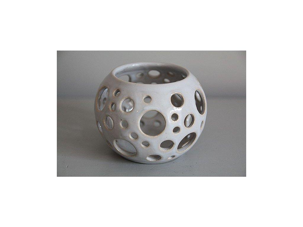 Svícínek šedý kolečka