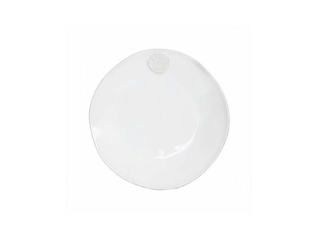 Talíř dezertní 21cm, NOVA, bílá