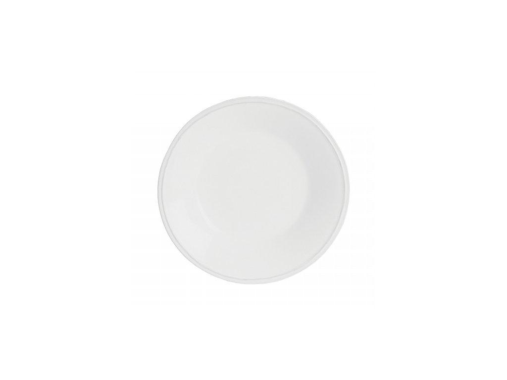 Talíř polévkový 26cm, FRISO, bílá