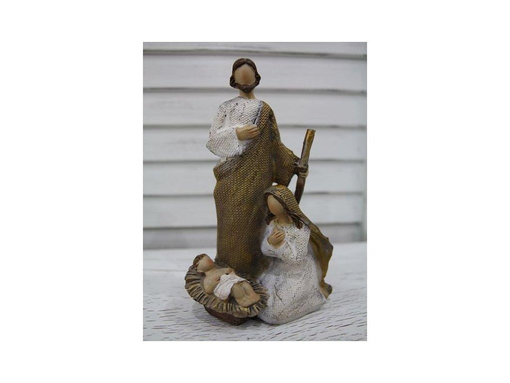Betlém- Svatá trojice- malý zlatý 2.