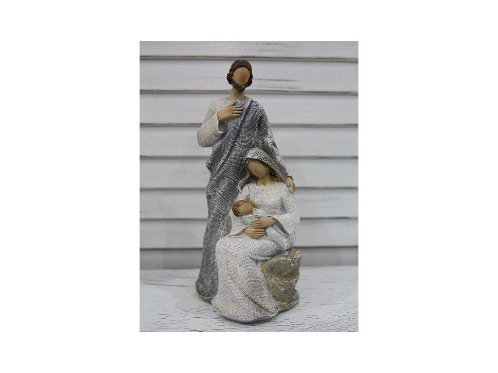 Betlém- Svatá trojice- šedý velký 2.