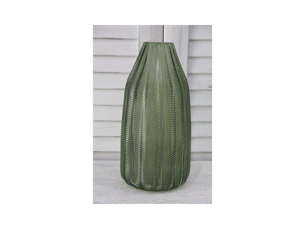 Váza zelená 1.vyšší