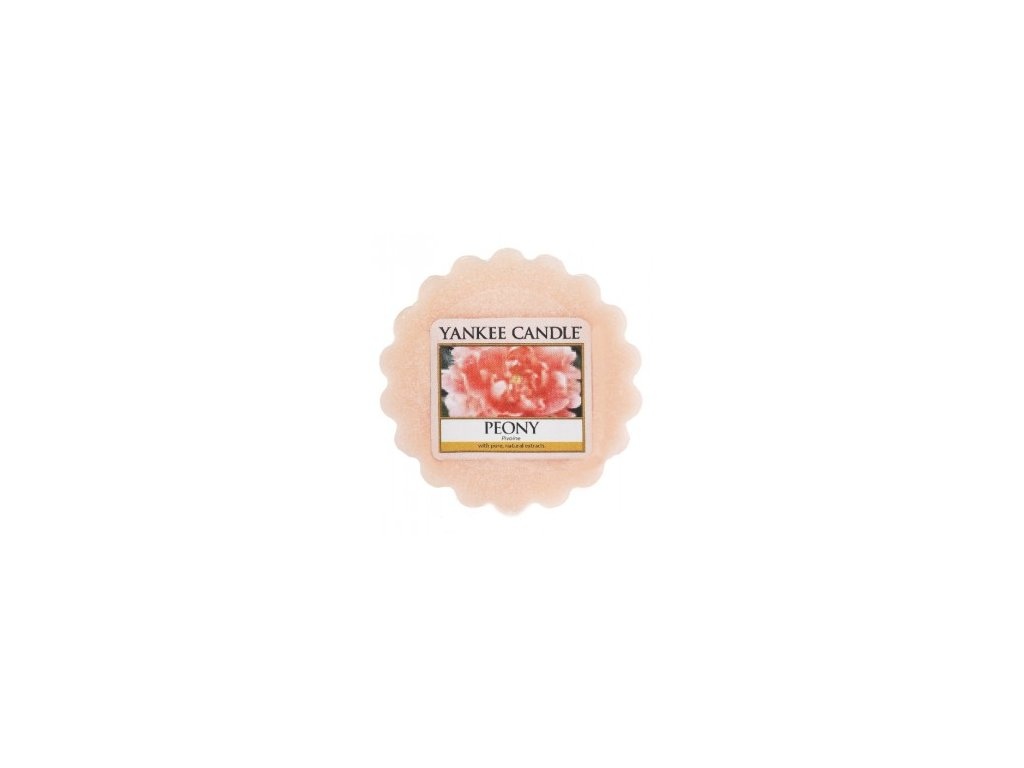 YANKEE CANDLE PEONY VONNÝ VOSK DO AROMALAMPY