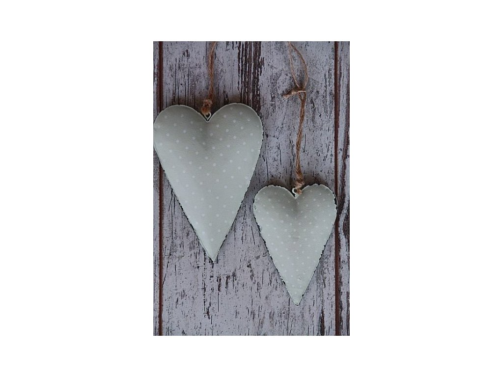 Srdce mint puntík- větší