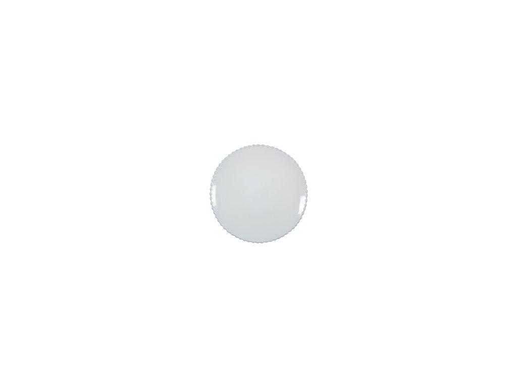 Talíř bílý dezertní Pearl 22cm