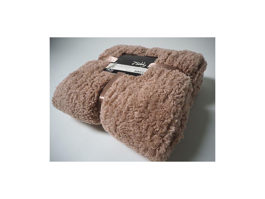 Deka Teddy warm taupe