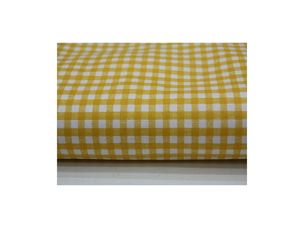 Metráž žlutá kostička