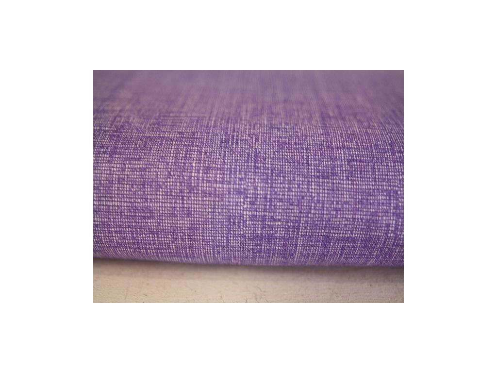 Metráž fialová jako režná