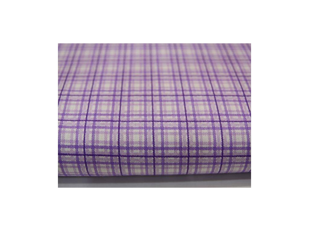 Metráž fialová kostička 12,9m
