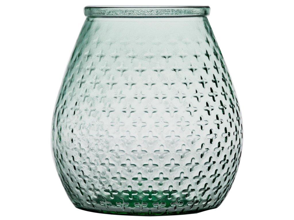váza recyklované sklo